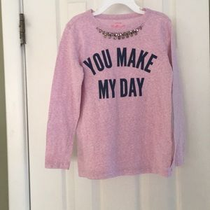 CREWCUTS COLLECTABLE YOU MAKE MY DAY SHIRT